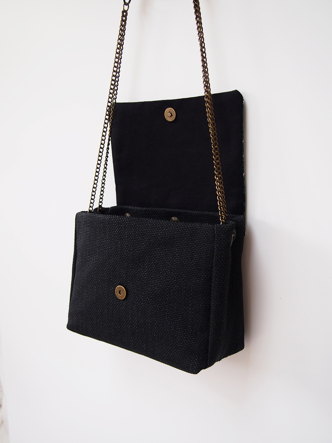 Sac June anthracite rabat au choix interchangeable